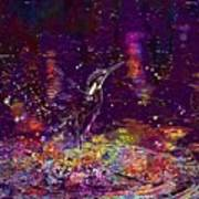 Kingfisher Bird Alcedo Atthis  Art Print