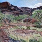 Kings Canyon II Art Print