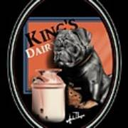 King's Dairy  Art Print