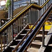 Kings Hwy Subway Station In Brooklyn Art Print