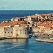 Kings Landing Dubrovnik Croatia - Dwp512798 Art Print