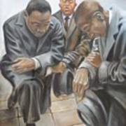 Kings Prayer At Selma Art Print