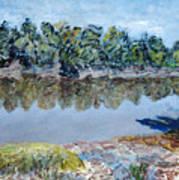 Kings River Art Print