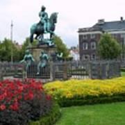 Kings Square Statue Of Christian 5th Art Print