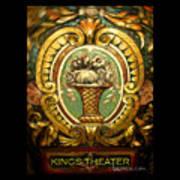Kings Theater Art Print