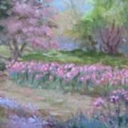 Kingwood Tulips Art Print