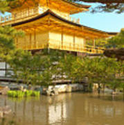 Kinkakuji Golden Pavilion Kyoto Art Print