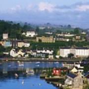 Kinsale, Co Cork, Ireland View Of Boats Art Print