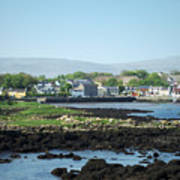 Kinvara Seaside Village Galway Ireland Art Print