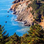 Kirby Cove San Francisco Bay California Art Print