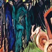 Kirchner: Street Scene Art Print