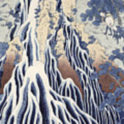 Kirifuri Fall On Kurokami Mount Art Print