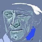 Kirk Douglas Old Tucson Arizona Number 2 1971-2008 Art Print
