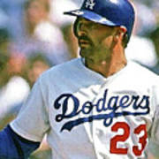 Kirk Gibson, Los Angeles Dodgers Art Print