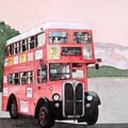 Kirkland Bus Art Print