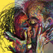 Kiss Me You Big Dick Art Print by James Thomas