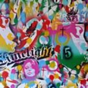 Kiss The Rainbow Art Print
