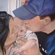 Kisses For Baby Print by Terri Thompson