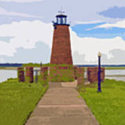 Kissimmee Lighthouse Art Print