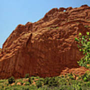 Kissing Camels At The Garden Of The Gods Art Print