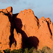 Kissing Camels Formation At Garden Of The Gods Art Print