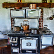 Kitchen - The Vintage Stove Art Print