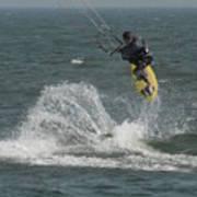 Kite Surfing 20 Art Print