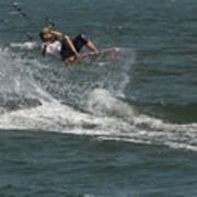 Kite Surfing 22 Art Print