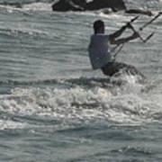 Kite Surfing 23 Art Print