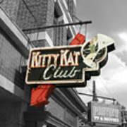 Kitty Kat Club Art Print