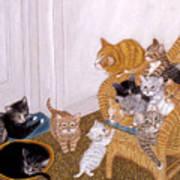 Kitty Litter II Art Print