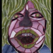 Kiwi - Fantasy Face No. 10 Art Print