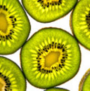 Kiwi Fruit Art Print