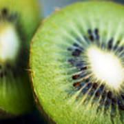 Kiwi Fruit Halves Art Print by Ray Laskowitz - Printscapes