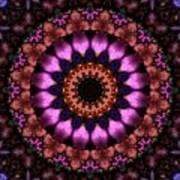 Klassy Kaleidoscope Art Print