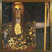 Klimt - Pallas Athena 1898 Art Print