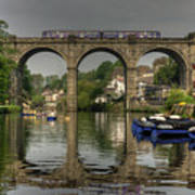 Knaresborough Viaduct Art Print