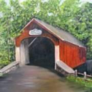 Knechts Covered Bridge Art Print
