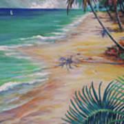 Knight Beach Art Print
