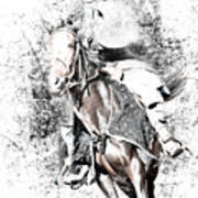 Knight In Armor Art Print
