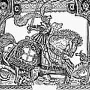 Knights: English, 1527 Art Print