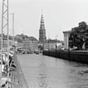 Kobenhavn Kanal Art Print