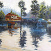 Kodaikanal Lake Art Print