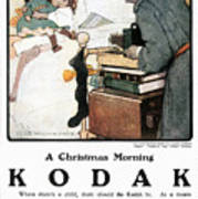 Kodak Advertisement, 1904 Art Print