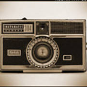 Kodak Instamatic Camera Art Print by Mike McGlothlen