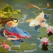 Koi II Art Print