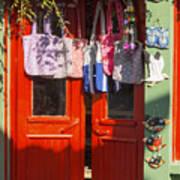 Kokina Red Door Art Print