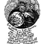 Koko Tribute Drawing Art Print