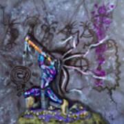 Kokopelli Cave Painting Art Print