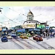 Kolkata Street Art Print